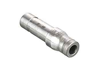 Pack of 10 Parker 67PLS-8M-12M-pk10 Prestolok PLS Push-to-Connect Fitting 8 mm 8 mm and 12 mm 12 mm 316L Stainless Steel Tube to Tube Push-to-Connect and Plug-in Stem Tube Reducer
