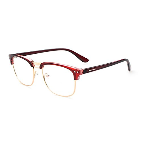 LOMOL Retro Personality Student Style Transparent Lens Frame Glasses For - Nerd Where Cheap Get For Glasses To