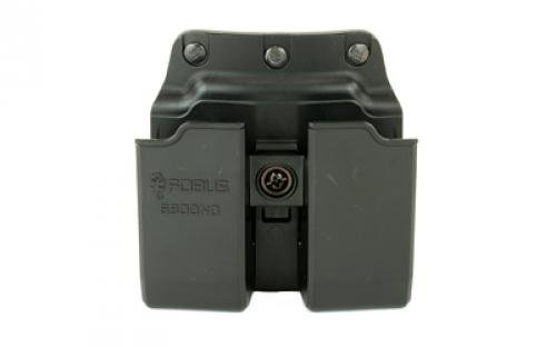 Fobus Belt Pouch - Fobus Belt, Pouch, Black, Fits Double Mag Glk9/40, Tension Adjustment Screw, Speed Side Cut 6900NDBH