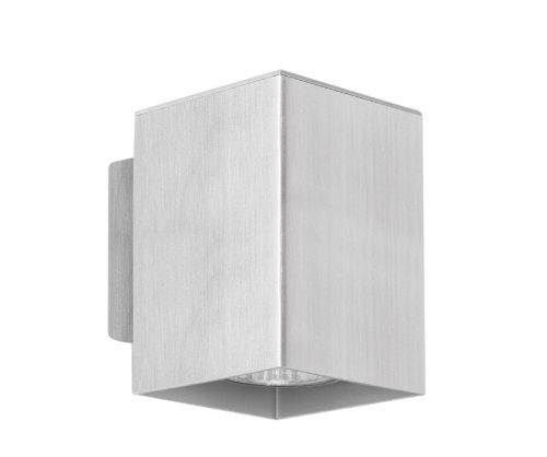 Eglo 87018A Madras Wall or Ceiling Light, Aluminum