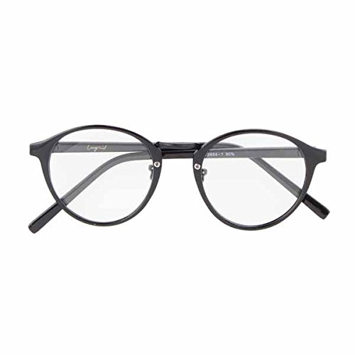 Amazon | UNGRID アングリッド メタルブリッジ伊達メガネ 111651044901/2016秋冬 BLACK F | ファッション小物 通販