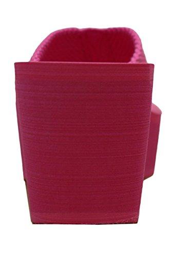 Cambridge Select Womens Comfy Platform Flip Flop Sandal Fuschia 6Bv2SOJ