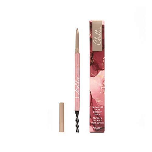 Chella Eyebrow Pencil, Tantalizing Taupe – Vegan, Gluten Free, Cruelty Free, Paraben Free, – Long Wearing, Smooth…
