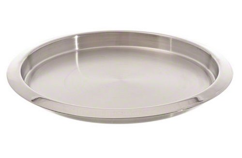 American Metalcraft SSBT14 Stainless Steel Round Bar Serving Tray, Silver, ()