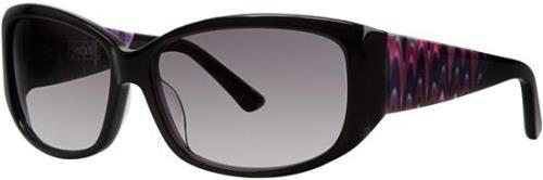 KENSIE Sunglasses UPSIDE DOWN Black 58MM