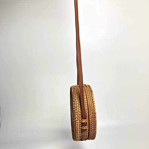 Cocoboo Handbag Handwoven Women Shining Rattan 20 Handbag Cm Crossbody Star IwxrZxv