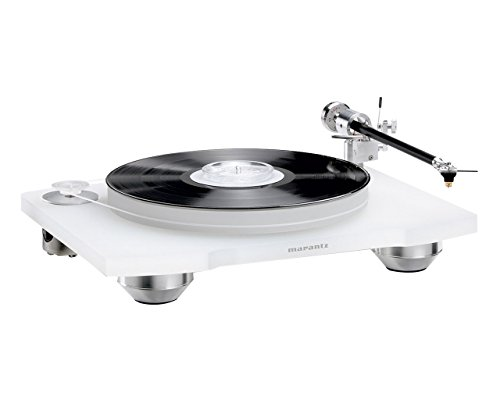 Marantz TT-15S1 Belt Drive Premium Turntable with Cartridge Included | Floating Motor for Low-Vibration & Low-Resonance | A Smart, Stylish Option for Vintage Vinyl Records