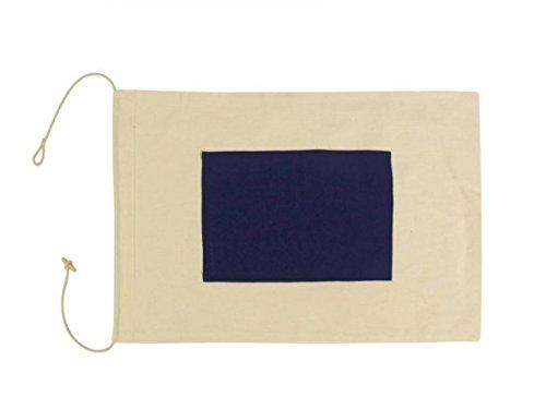 Hampton Nautical  Letter S Nautical Cloth Alphabet Flag, Decor, Home Decoration, Wall Art Tool, 20