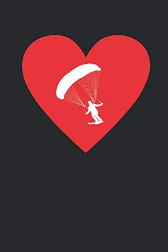 Ich Liebe Cliff-Jumping: Notizbuch A5 für Cliff-Jumper, Fallschirmspringer, Ski und Wintersport-Liebhaber I Fallschirm-springen I ca. A5 (6x9 inch.) I ... Dotted I Dot Grid I Gepunktet I Punkteraster por Cliffjumping Publishing