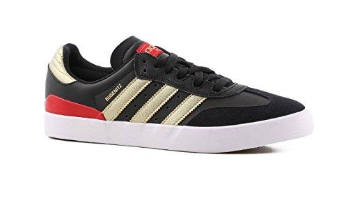 Adidas Skate Busenitz (bianco / Ftwwht / Gum) -10.5 Black/Gold Metallic/Scarlet