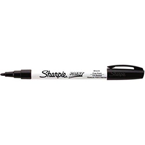 Sharpie Paint Marking Pens, Fine, Black (50 Pack)