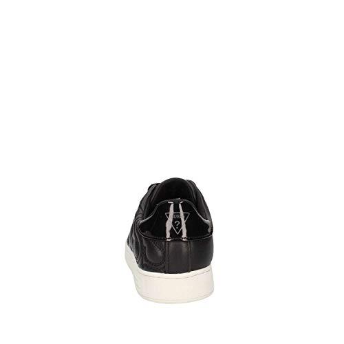 Guess Donna flce34lea12 Sneakers Pelle Eu Black rSw8rq5p6x