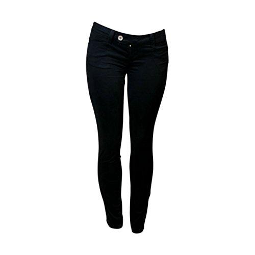 55c55b218dff Zanadi - Women s Ext Tab Twill Jeans - Black 60%OFF - demo.zoccos.com