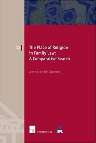 The Place of Religion in Family Law: A Comparative Search