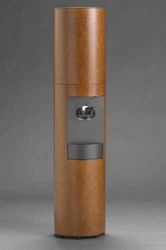 Cima Canadian Cherry Wood Water Cooler Hand Stained in Brown to a Furniture Finish - Hot & Cold by Thermo Concepts (Image #4)