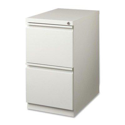 Gray Mobile File Cabinet (Lorell LLR49525 Mobile File Pedestal, Light Gray)