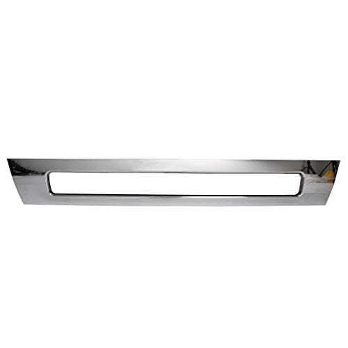 (ECOTRIC Front Bumper Center Cover Chrome Lower Trim for 2004-2015 Volvo VNL 300 430 630 670 730)