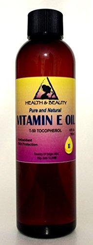 Tocopherol T-50 Vitamin E Oil Anti Aging Natural Premium Pure 4 oz