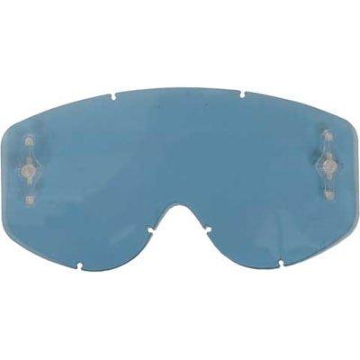 Scott Hustle/Tyrant Series Works Single Replacement Lens Off-Road/Dirt Bike Motorcycle Eyewear Accessories - AMP Blue