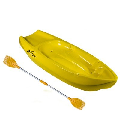 Lifetime Wave Youth Kayak with Paddle (Yellow, 6-Feet), Outdoor Stuffs