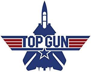 Adhesivo Pegatina Adhesivo Sticker Top Gun 12 cm Aufkleber autocollant: Amazon.es: Hogar
