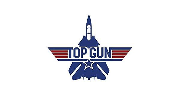 Adhesivo Pegatina Adhesivo Sticker Top Gun 12 cm Aufkleber ...