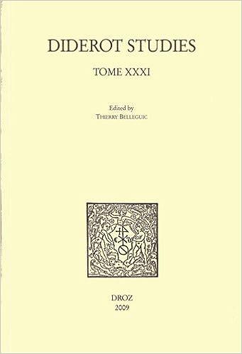 Lire un Diderot Studies, Tome 31 pdf