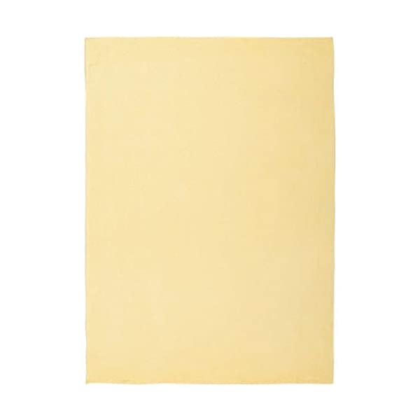 VHC Brands Farmhouse Bedding – Baby Yellow Blanket, 48″ x 36″, Buttercup