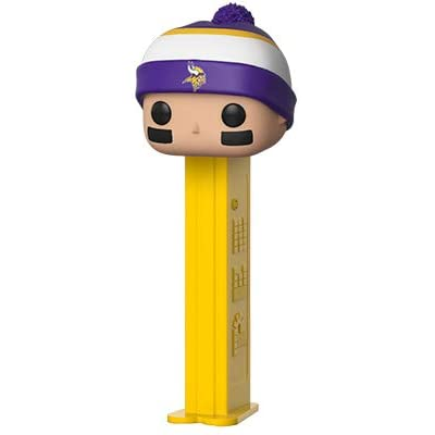 Funko POP! PEZ: NFL - Vikings (Beanie): Toys & Games