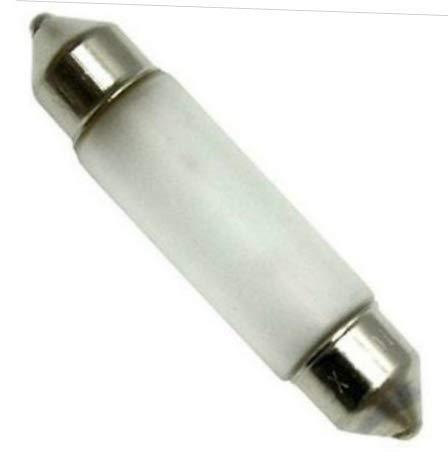 - Lamp Bulb 10 pcs of Xenon Festoon 12V 10W Frosted