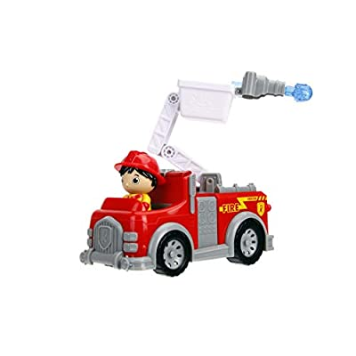Jada Toys Ryan's World Fire Truck with Ryan Figure, 6