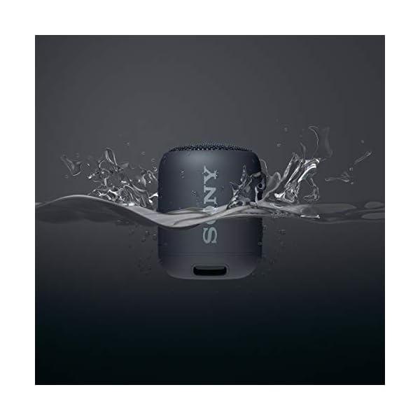 Sony SRS-XB12 Enceinte Portable Bluetooth Extra Bass Waterproof - Noir 3