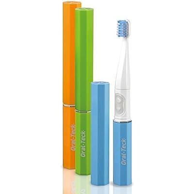 Cepillo de dientes eléctrico Ultrasonico portatil ideal para viajes,trabajo,cole. cabezales recambiables cerdas dupont de maxima calidad