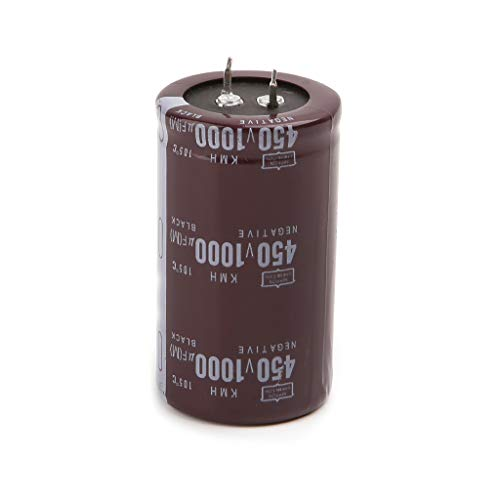 - Yuly High Frequency 450V 1000uF Aluminum Electrolytic Capacitor Volume 35x60