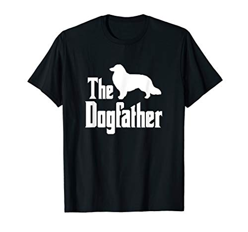 (The Dogfather - funny Rough Collie T-Shirt, funny dog gift)