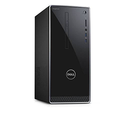 Dell Inspiron Flagship High Performance Desktop PC | Intel Core i3-6100 | 8GB RAM | 1TB HDD | DVDRW | Windows 7 Professional English 64bit (Includes Windows 10 Pro License) | Keyboard and Mouse by Dell (Image #1)