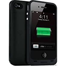 Mophie Juice Pack Plus for iPhone 4/4S Case and Battery (Black)