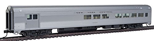 85' Budd Baggage-Lounge - Ready to Run -- New York Central (silver)