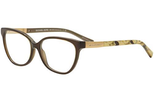 Michael Kors ADELAIDE III MK4029 Eyeglass Frames 3116-51 - Dk Brown Tigers ()