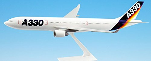 House Airbus (Flight Miniatures Airbus A330-300 House Livery Demo 1:200 Scale Display Model with Stand)