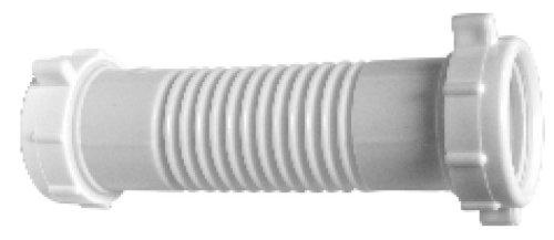 """Lincoln 108395 1-1/2"""" x 1-1/2"""" or 1-1/4"""" Flexible Plastic Drain Repair Coupling"""