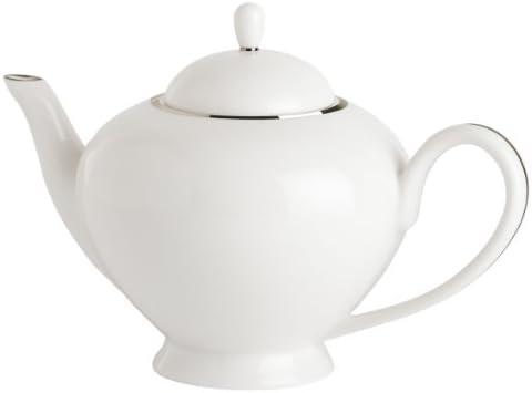 Guy Degrenne Galon Platine - Tetera cafetera (Porcelana), diseño ...