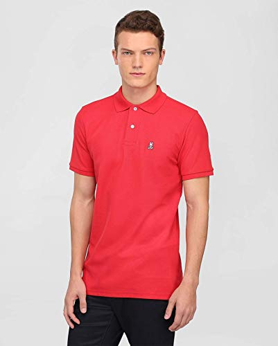 - Psycho Bunny Men's Classic Polo Brilliant Red 6