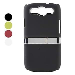 Caso de diseño especial difícil para Samsung Galaxy i9300 s3 (colores surtidos) , Rojo