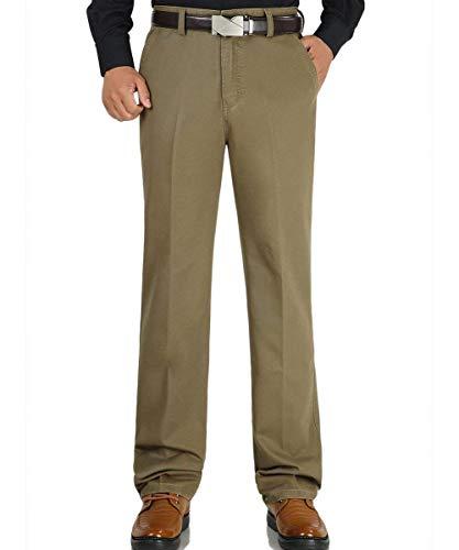 Jambe Loisirs Plein Air Formal Hellkhaki En Pour Hommes Pocketunicolor Pantalon Bobolily Large Droit Avec wPqRxaHv