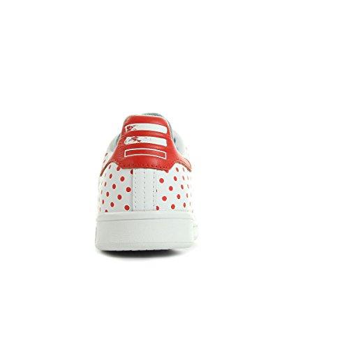 et SPD B25401 Blanc Bianco sportive adidas Scarpe rouge Stan Smith Bxt8U7