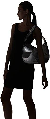 Nine West Black Patchworks Black Bag Black Black Hobo vqaxfq86