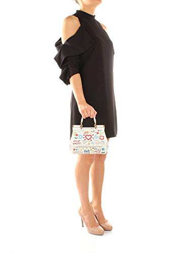 Blanco Mujer Mano Sicily Dolce Mini Bolsos De amp;gabbana Piel bb6003as231 qxOwzvf