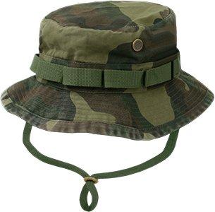 Rapid Dominance R70-PL-WDL-03 Military Boonie Hats, Woodland, - Woodlands Mall