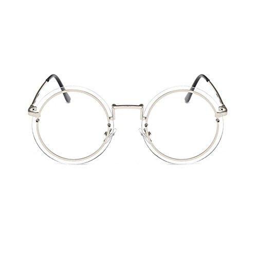 Aoligei Trendy rond cadre populaire rétro hommes et femmes générales lunettes de soleil lunettes de soleil c2qKF